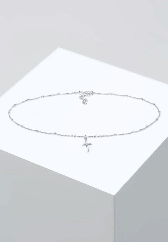 KREUZ BASIC  - Collier - silver-coloured