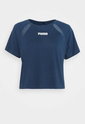 PAMELA REIF X PUMA COLLECTION  BOXY TEE - T-shirts med print - blue