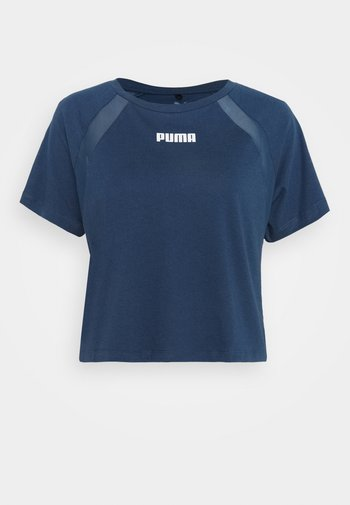 PAMELA REIF X PUMA COLLECTION  BOXY TEE - T-shirt med print - blue