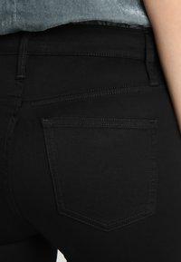 J.CREW TALL - TOOTHPICK - Skinny džíny - true black - 5