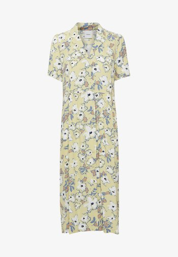 Vestido camisero - golden mist
