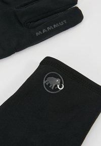 Mammut - STRETCH GLOVE - Hansker - black - 5