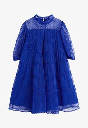 Day dress - blue grey