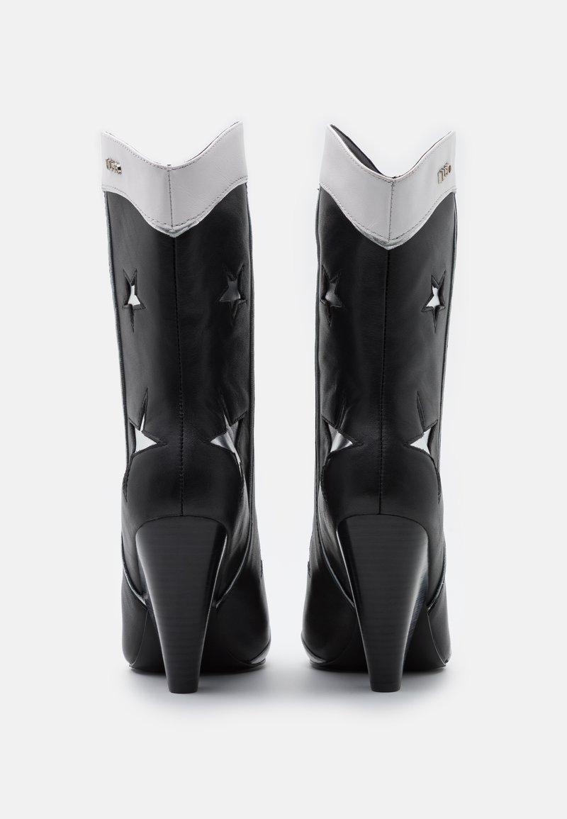 Tratamiento papel Consumir  Liu Jo Jeans GUENDA - High heeled boots - black - Zalando.ie