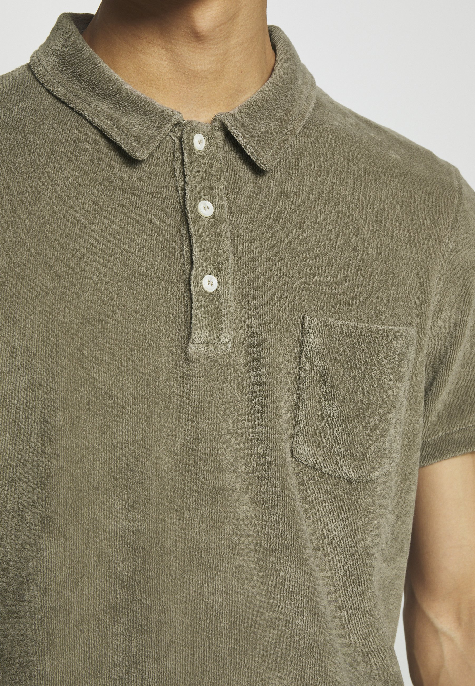 CLOSED SHORT SLEEVE - Polo - soft khaki