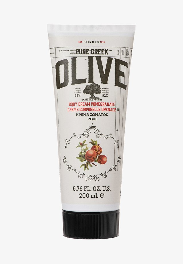 OLIVE & POMEGRANATE BODY CREAM - Moisturiser - -