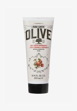 OLIVE & POMEGRANATE BODY CREAM - Balsam - -