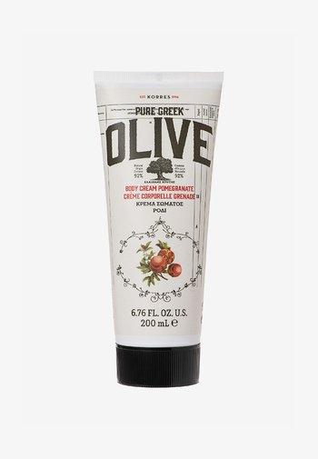 OLIVE & POMEGRANATE BODY CREAM - Moisturiser - -