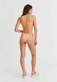 PULL&BEAR - Bikini top - coral - 2