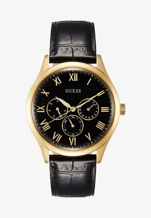MENS TREND - Uhr - black/gold-coloured