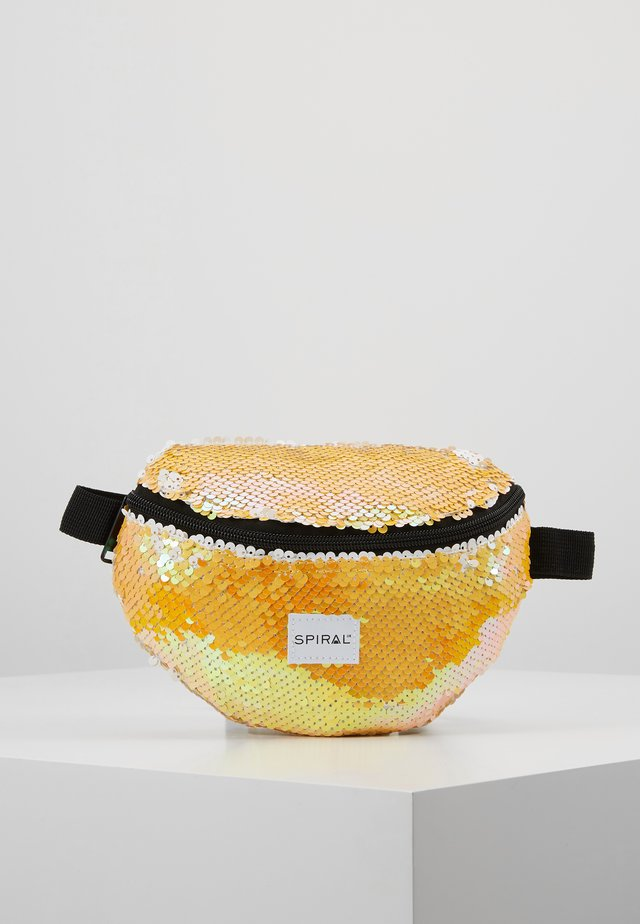 PLATINUM BUM BAG - Bum bag - mustard
