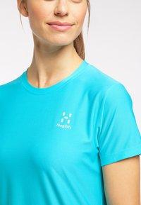 Haglöfs - Basic T-shirt - maui blue - 3