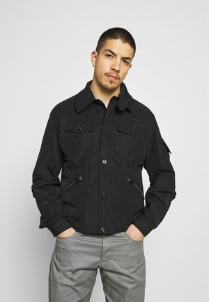 FLIGHT COMBAT - Summer jacket - carbourne memory/dark black