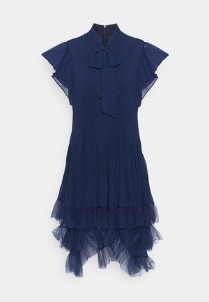 DIVINE SUMMER DRESS - Day dress - navy blue