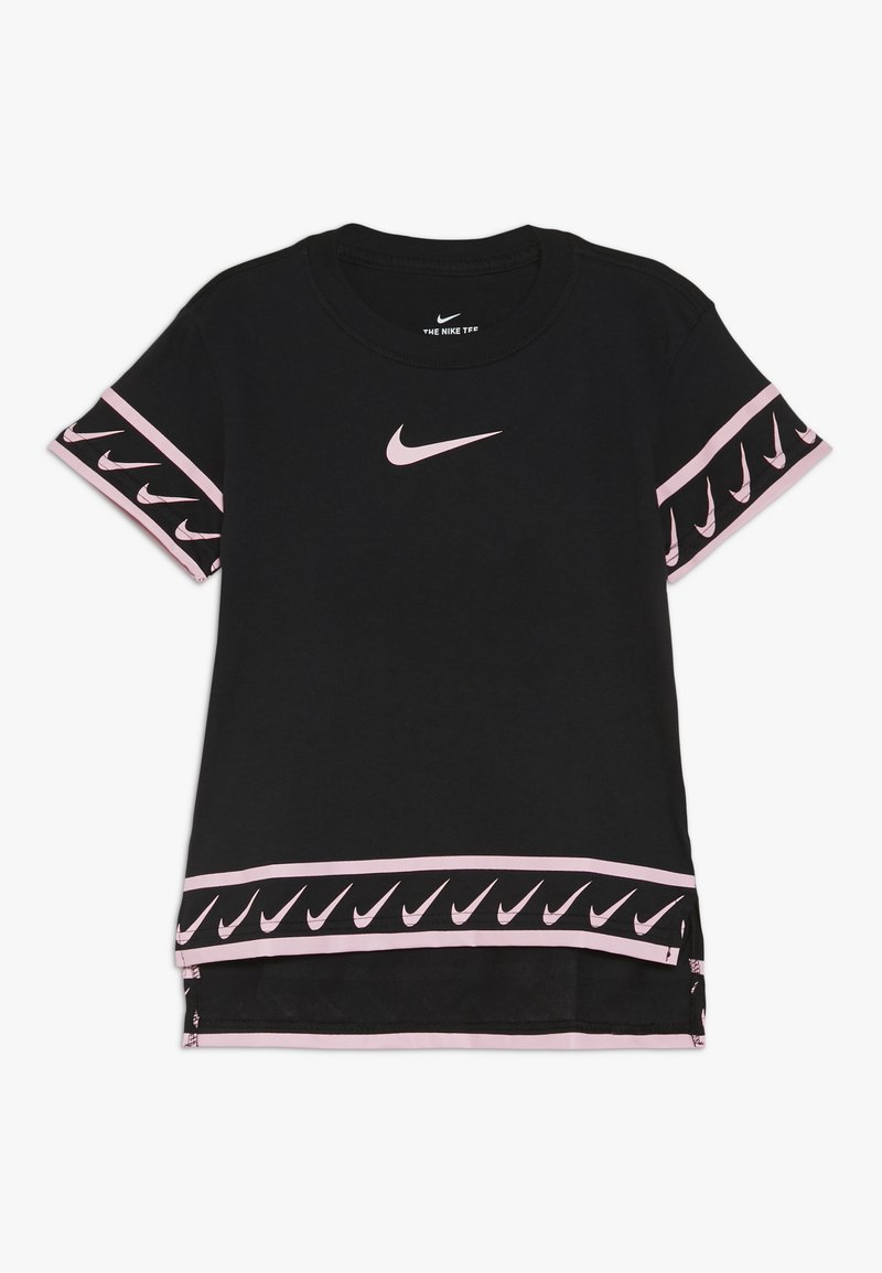 Nike Performance - TEE STUDIO - Print T-shirt - black/pink tint