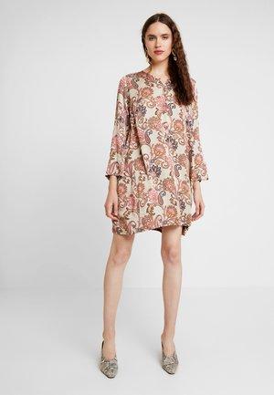 BRISA WEAVE DRESS - Shirt dress - vintage rose