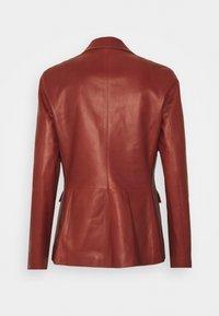 Bally - Leather jacket - spice - 8
