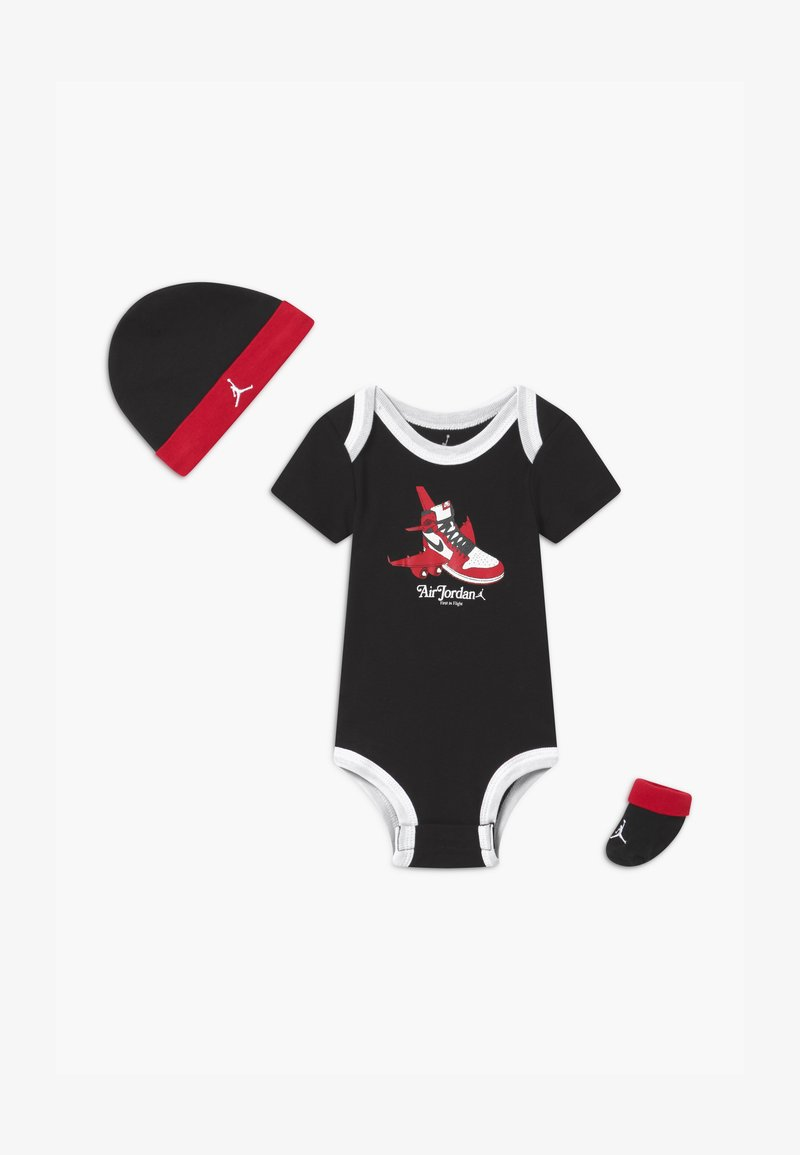 Jordan - FIRST IN FLIGHT UNISEX SET - Baby gifts - black