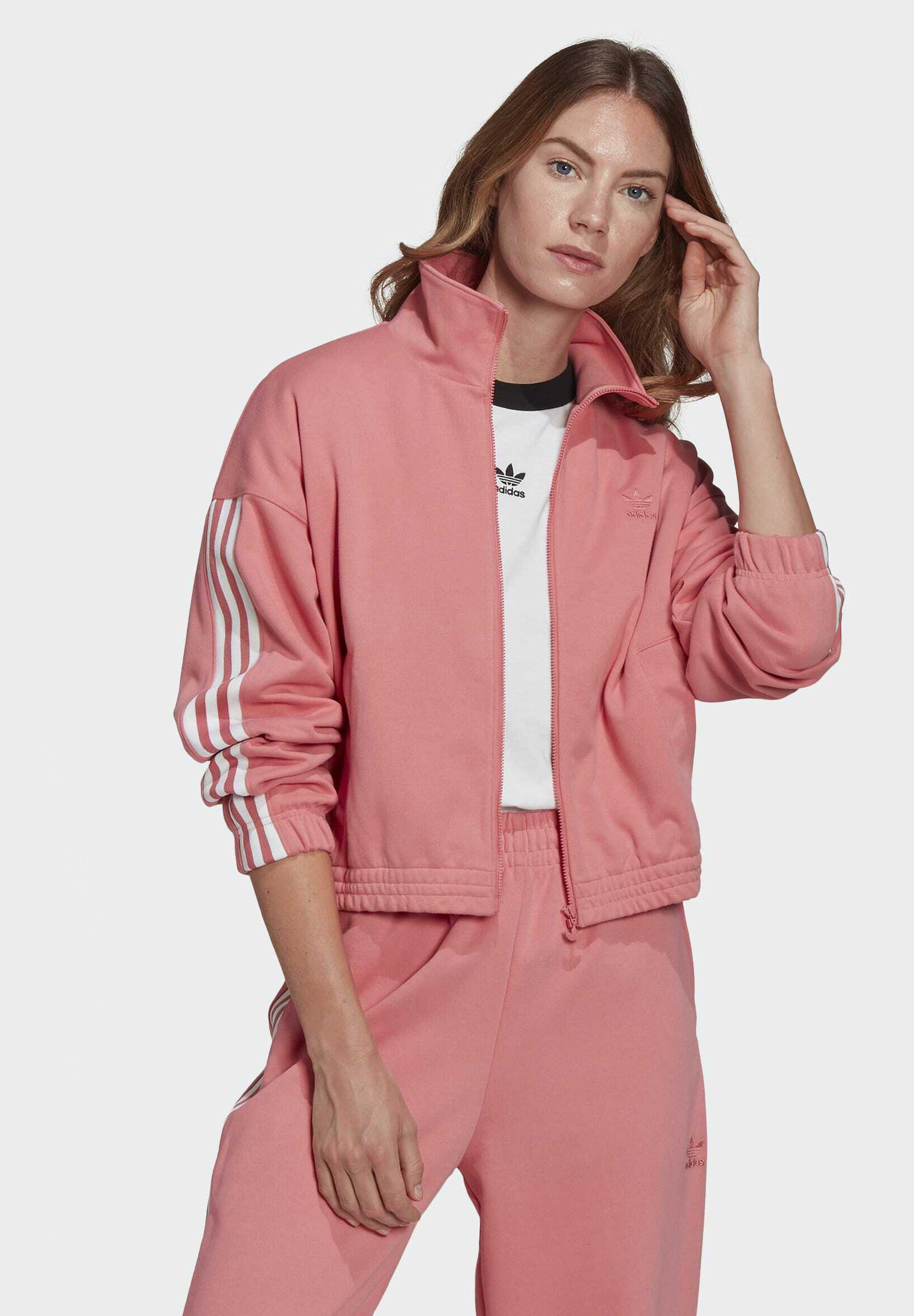 Women ADICOLOR 3D TREFOIL TRACK TOP - Training jacket