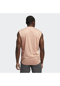 adidas Performance - YOGA MUSCLE TEE - Top - ambient blush - 1