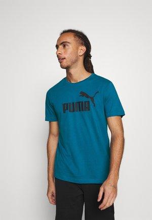 LOGO TEE - T-shirt imprimé - blue