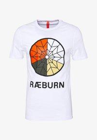 Raeburn - PARACHUTE GRAPHIC  - T-shirts print - white - 6