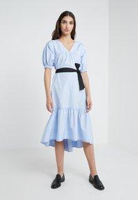 3.1 Phillip Lim - MIDI FLARE DRESS - Day dress - oxford blue - 0