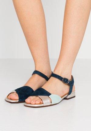 TAILA - Sandals - indigo/posh silver/acqua/indigo