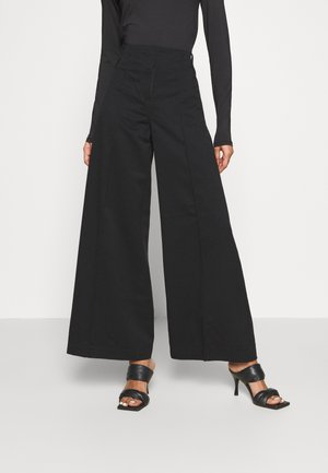 PETRA TROUSER - Trousers - black