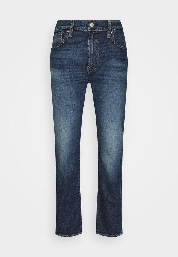Levi's® 502 TAPER - Jeansy Slim Fit - dark indigo/niebieski denim Odzież Męska PPAT
