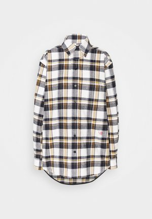 OVERSIZED LUMBERJACK  - Košile - off white/navy