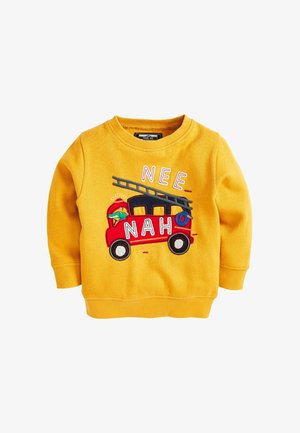 FIRE ENGINE - Sweatshirt - yellow