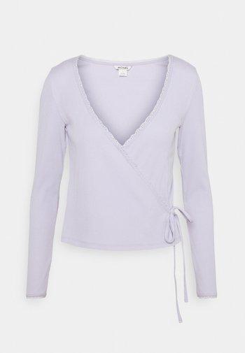 Langarmshirt - lilac purple dusty light solid