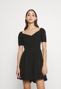WAL G. - JAMIE PLAYSUIT - Jumpsuit - black - 0