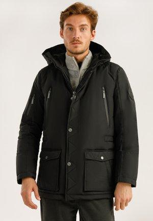 MIT HOCHWERTIGER WATTIERUNG - Winter jacket - black