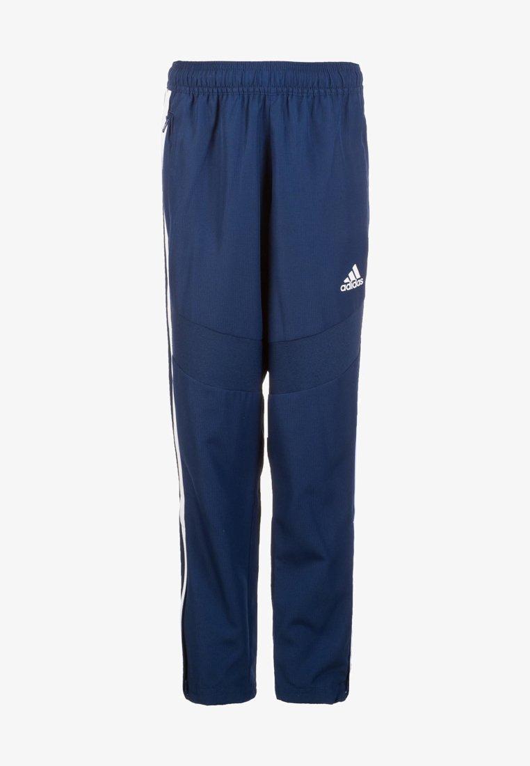 adidas Performance - TIRO 19 WOVEN CLIMALITE PANTS - Spodnie treningowe - dark blue / white
