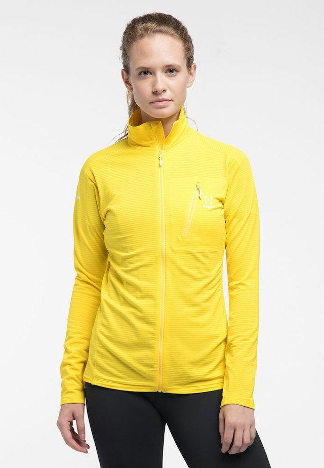 L.I.M MID JACKET - Fleece jacket - signal yellow