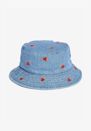 ALL OVER EMBROIDERED  - Hat - blue denim
