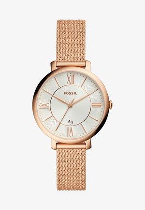 JACQUELINE - Reloj - roségold-coloured