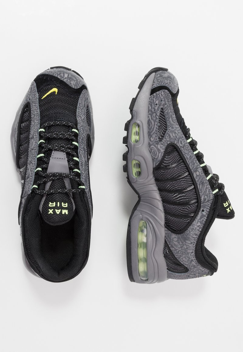 Nike Sportswear - AIR MAX TAILWIND IV SE - Trainers - gunsmoke/barely volt/black/opti yellow