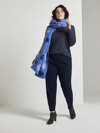 MY TRUE ME TOM TAILOR - Long sleeved top - real navy blue                blue - 1