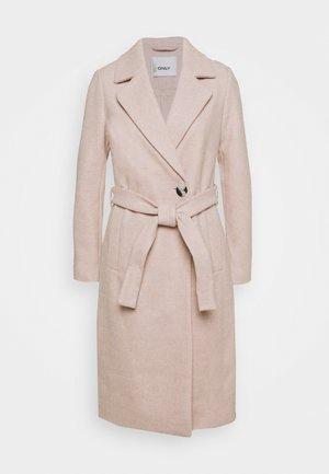 ONLGINA WRAP COAT  - Classic coat - humus melange