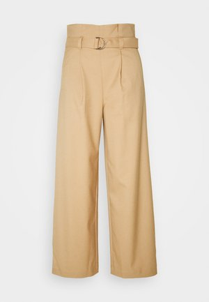 VERA TROUSERS - Trousers - beige