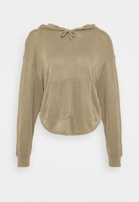 Free People - BACK INTO IT HOODIE - Hoodie - army - 4