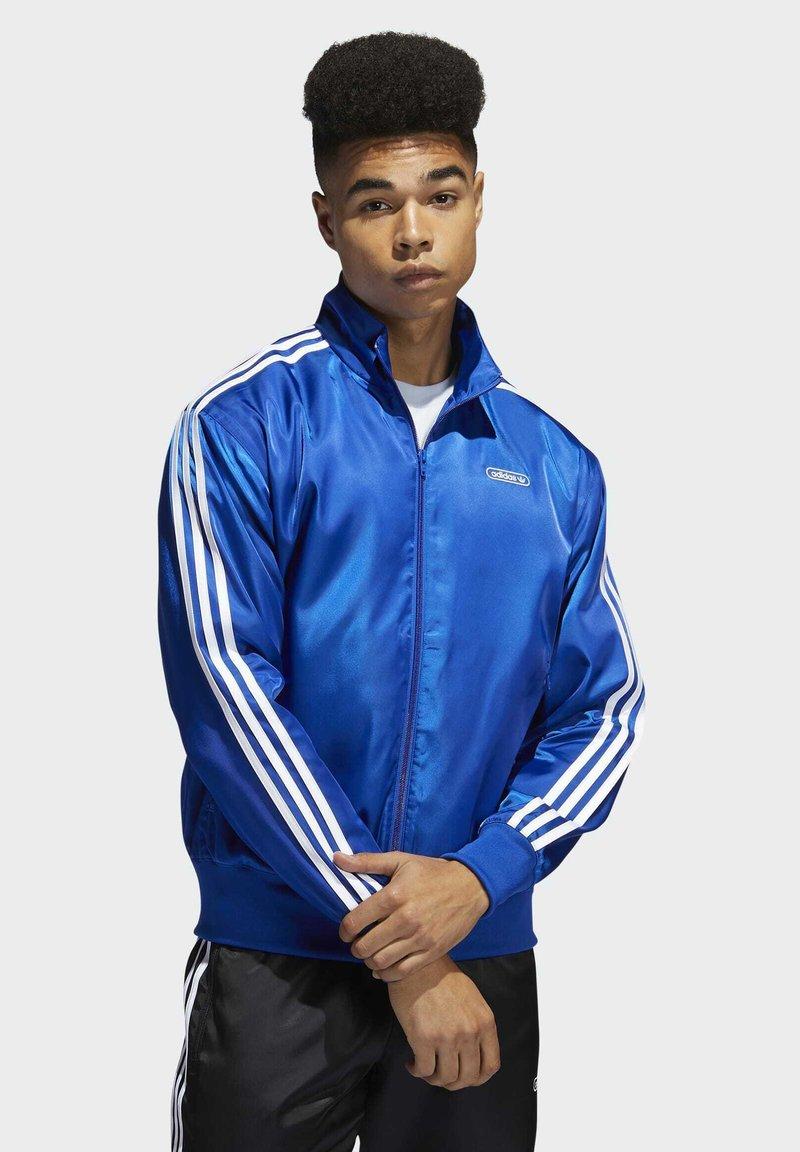 adidas Originals - SATIN FIREBIRD TRACK TOP - Træningsjakker - blue