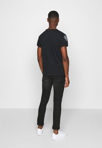 Schott - Print T-shirt - black - 2
