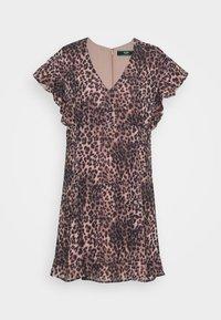 Guess - AYAR DRESS - Day dress - iconic brown - 4