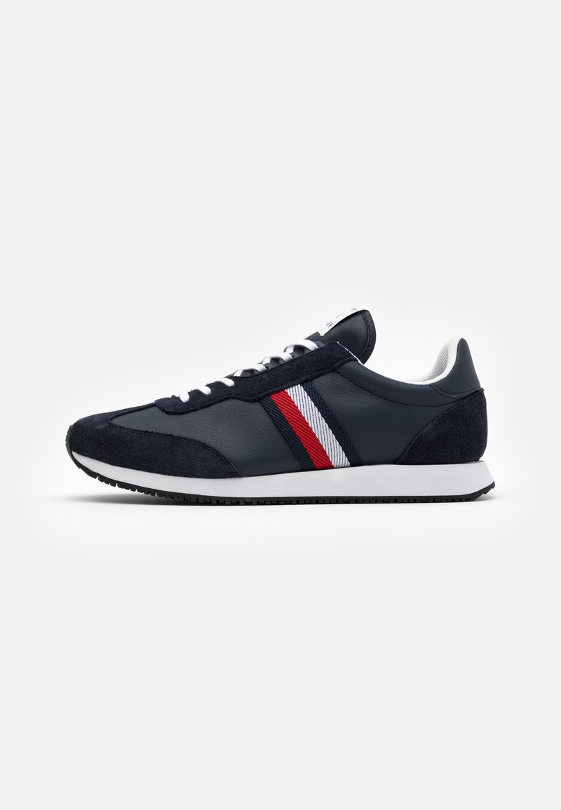 Tommy Hilfiger - MIX RUNNER STRIPES - Trainers - desert sky