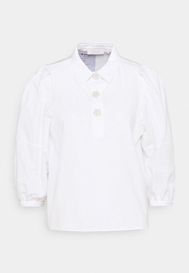 BLOUSE - Langærmede T-shirts - white