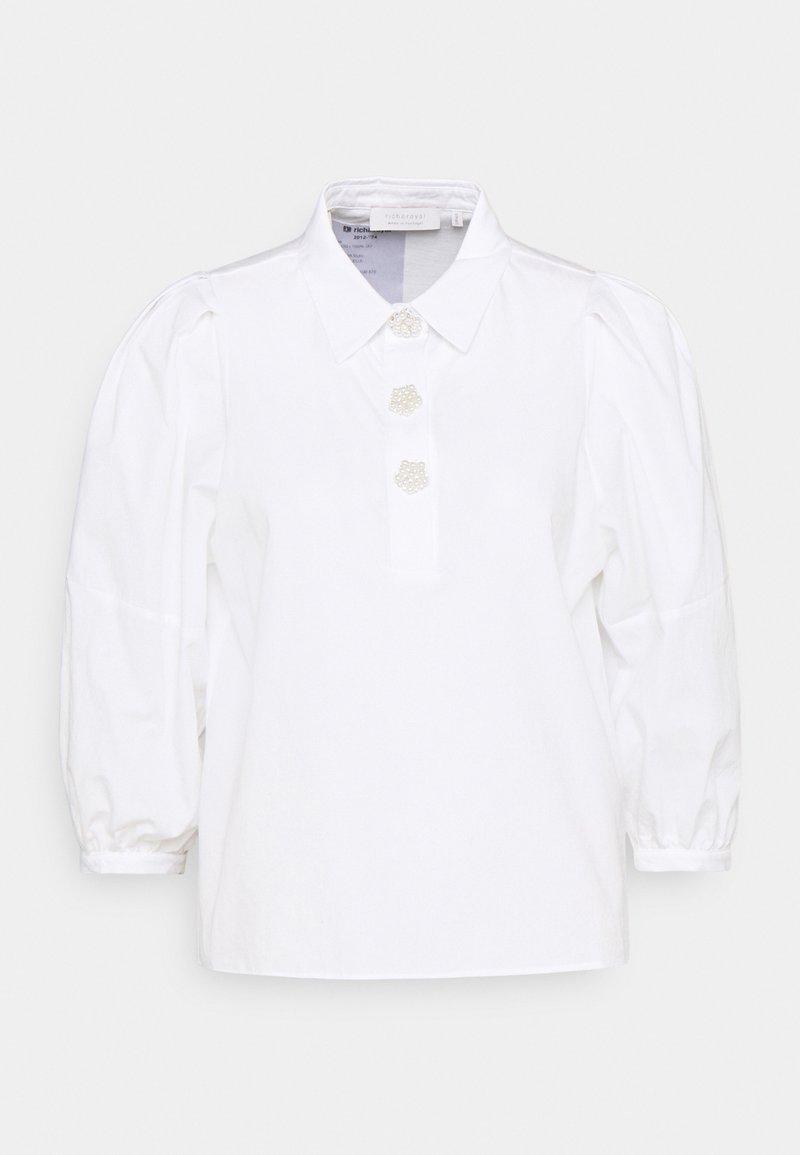 Rich & Royal - BLOUSE - Topper langermet - white